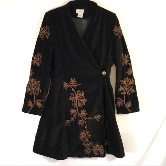 Soft Surroundings Jackets & Blazers - Soft Surroundings Antoinette Coat velvet embellish